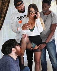 Brooklyn Chase's Third Appearance Biracial Marriages