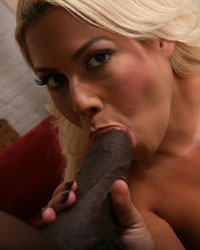 Bridgette B Interracial Gangbang Photos