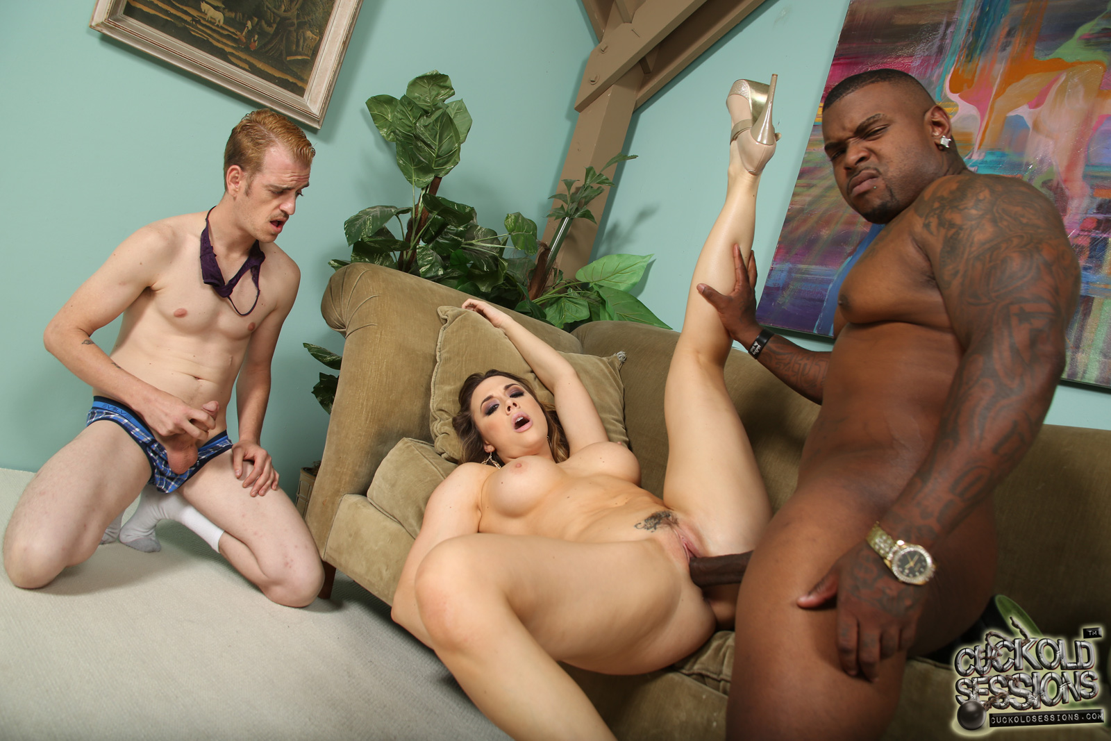 Milky Slut Black Cock Her Boypatron Was Cuckold On Her