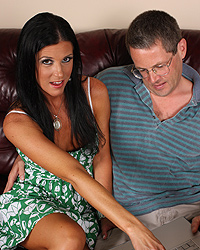 India Summer - Generous cuckold invites 3 black guys to bang his wife