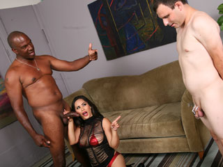 Jessica Bangkok Interracial Gangbang Video