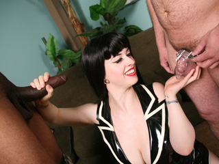 Sucking A Black Dick Larkin Love