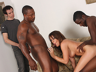 Nikki Anne Interracial Fuck