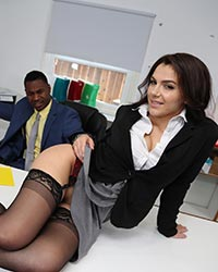 Valentina Nappi's Second Appearance Extreme Interracial Gangbang