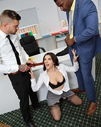 Valentina Nappi's Second Appearance Mandingo Black Dick