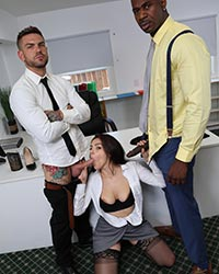 Valentina Nappi's Second Appearance Interracial Anal Sex