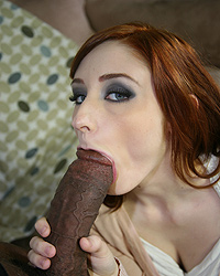Violet Monroe Black Dick Sucked
